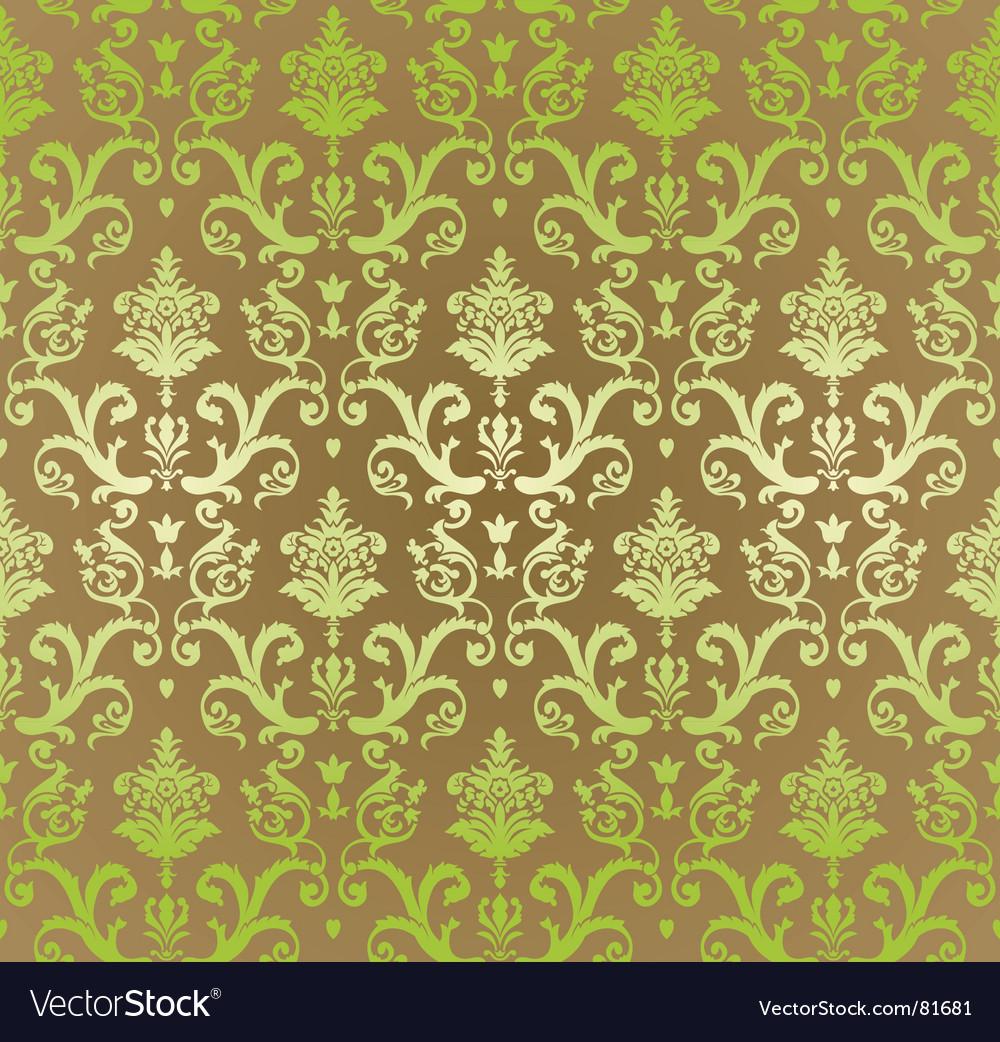 Vintage decorative wallpaper Royalty Free Vector Image