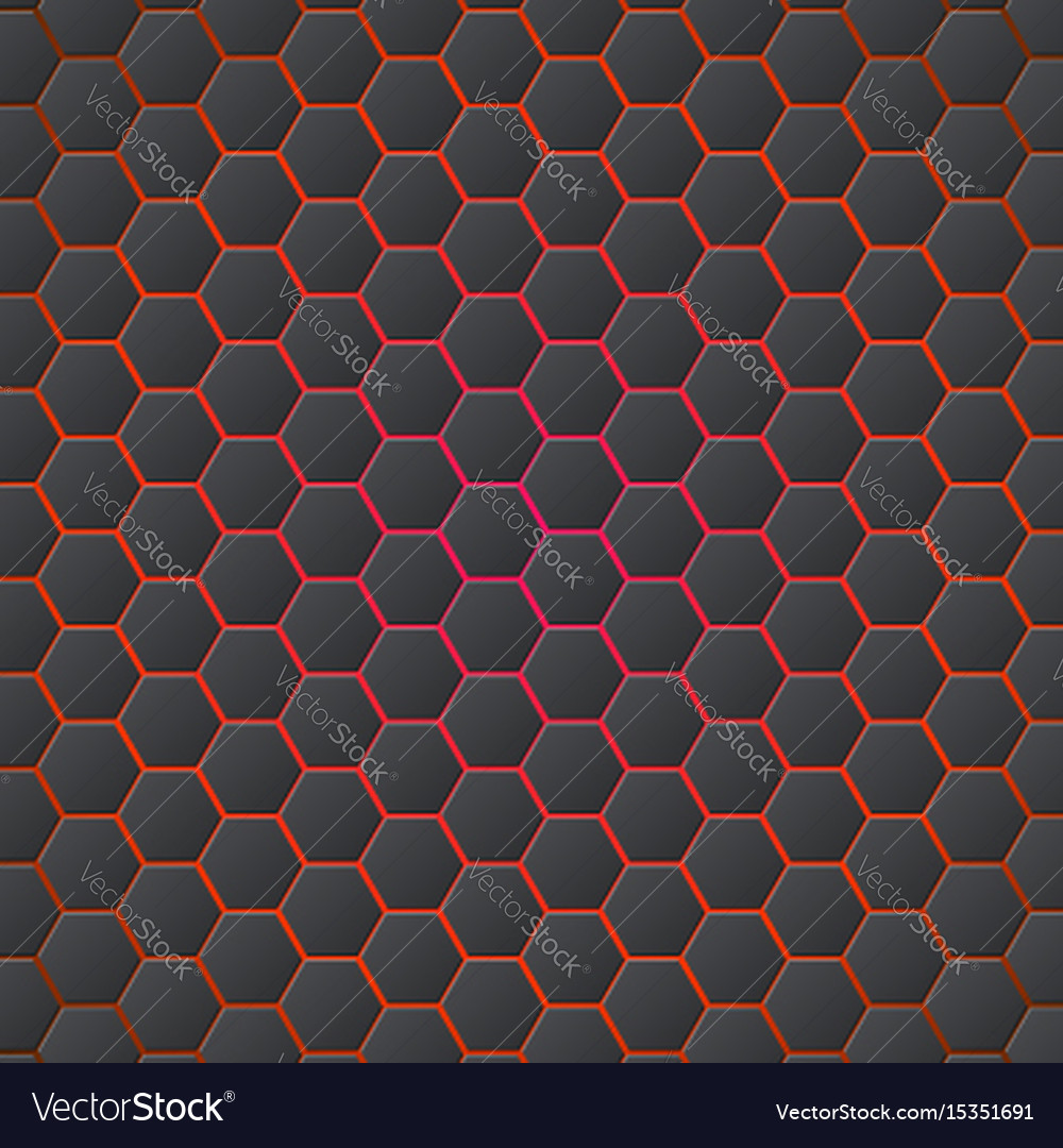 Honeycombs abstract 3d hexagonal seamless backdrop