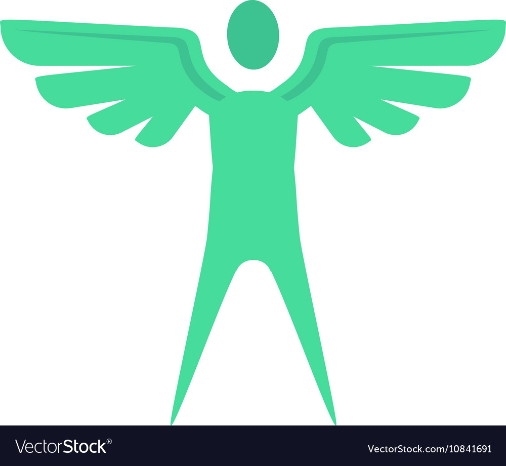 Winged Icon vector image