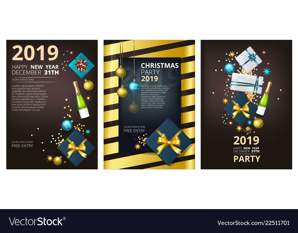 Holiday Brochure Template Corporate Greeting Card