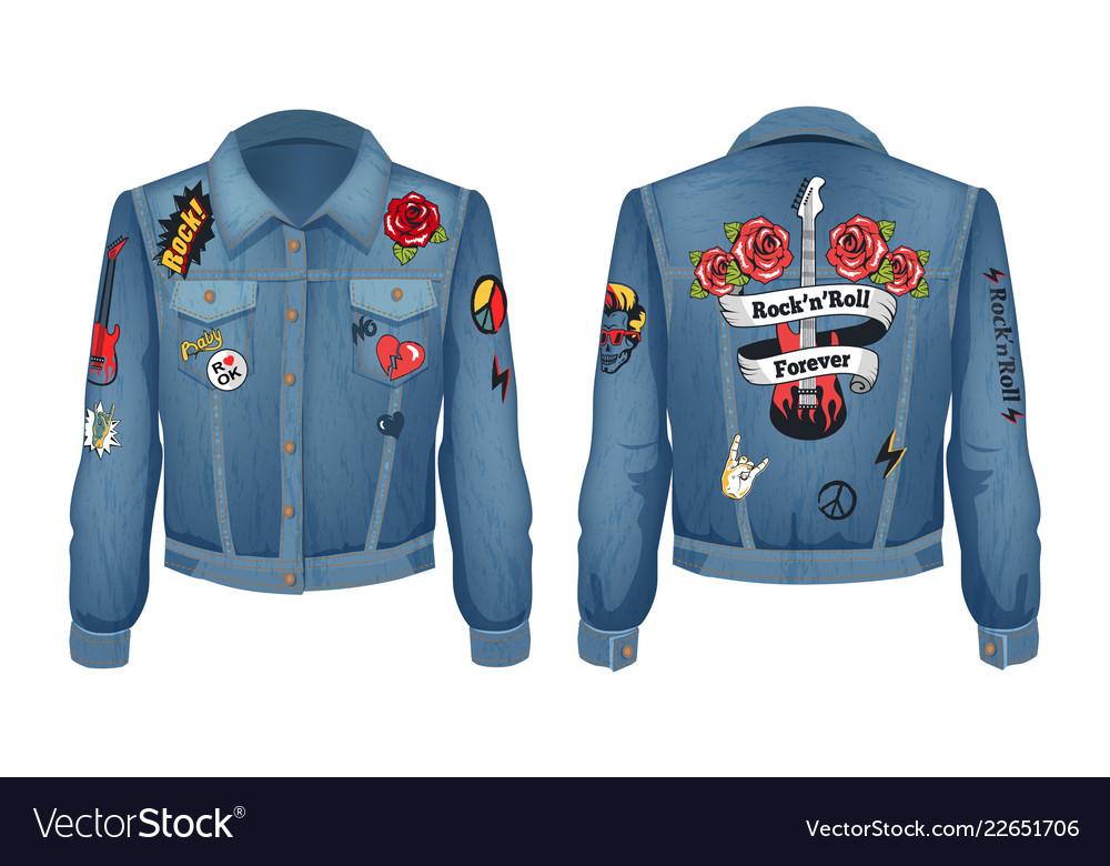 Rock-n-roll forever jacket