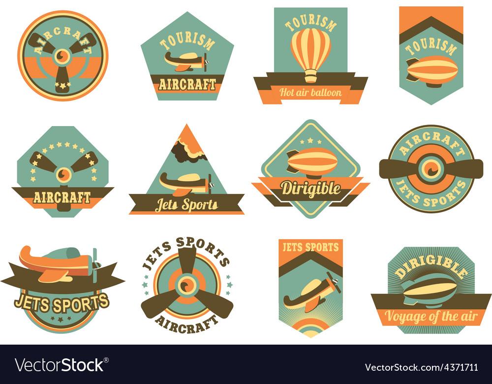 Aviation badges