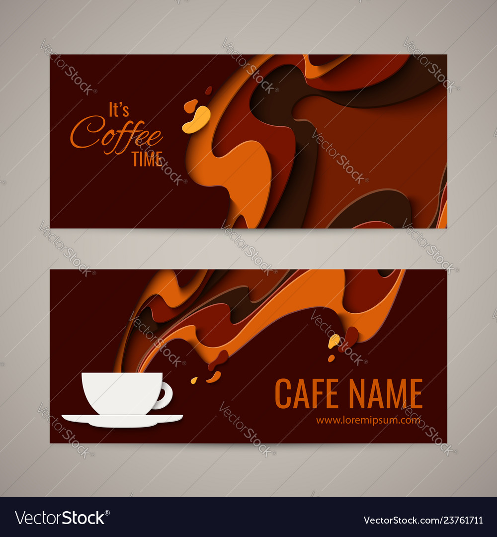 Coffee menu background