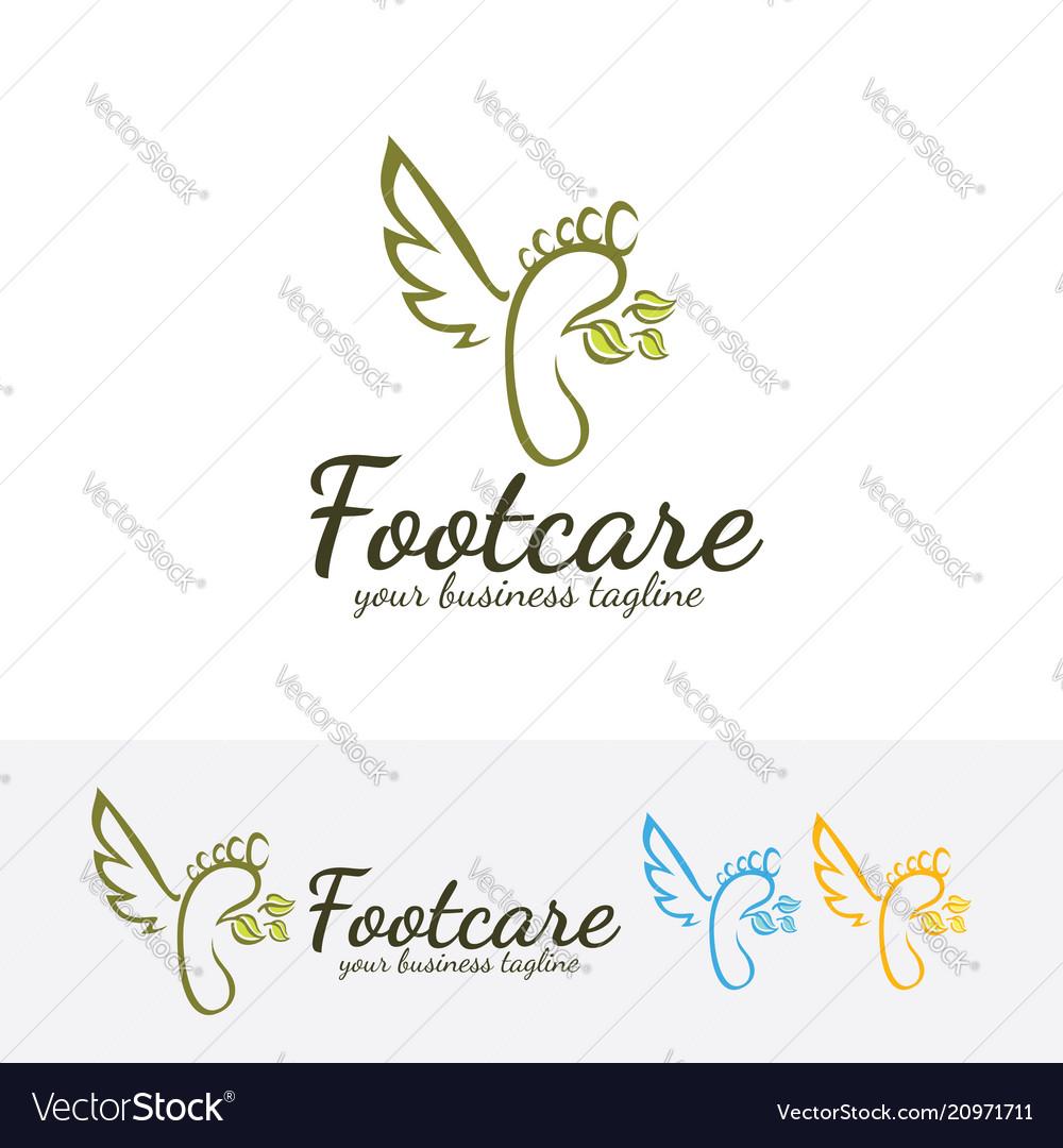 Foot care logo design