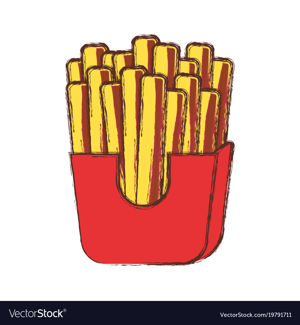French fries design
