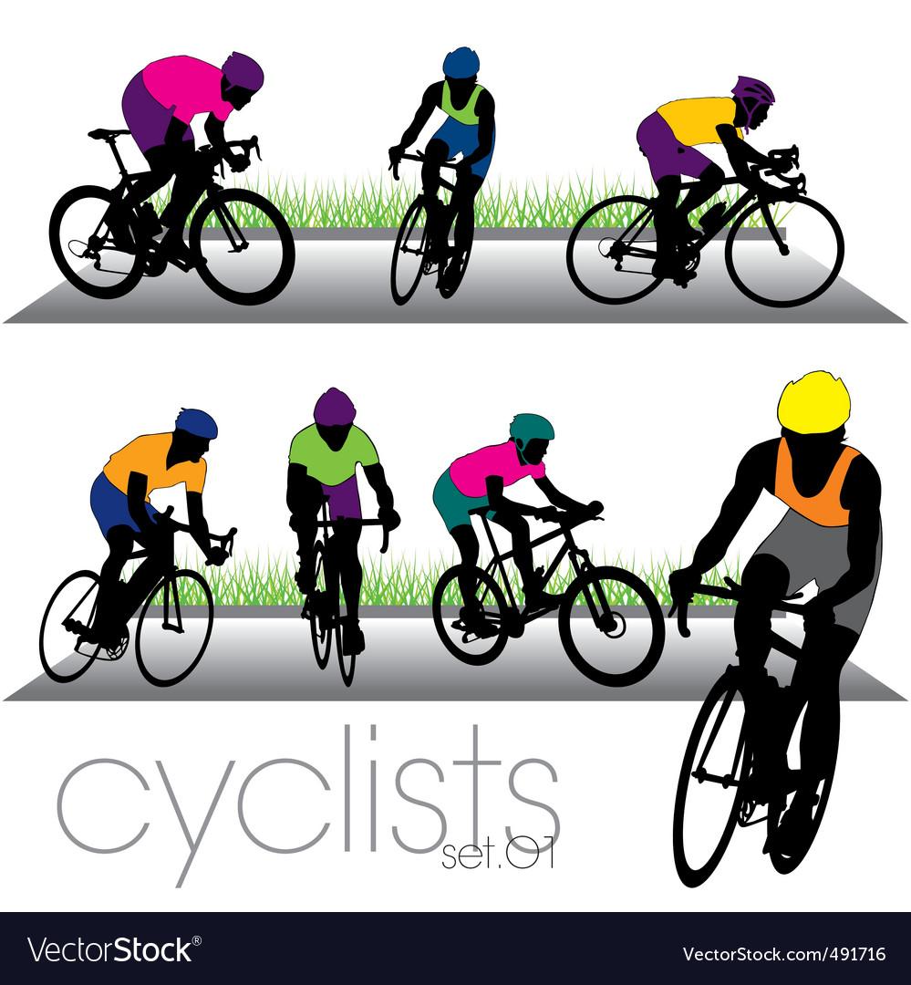 Cyclists set01