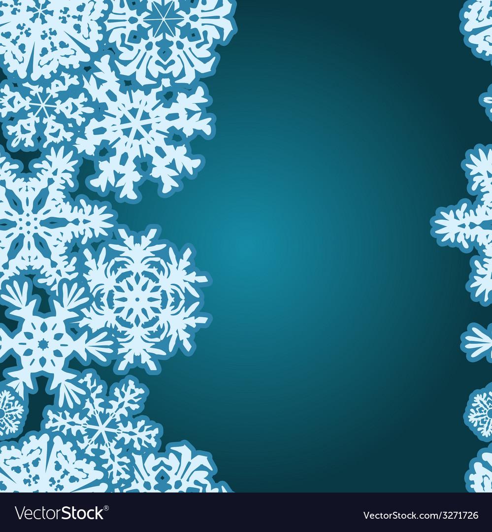 snowflakes winter seamless border seamless texture
