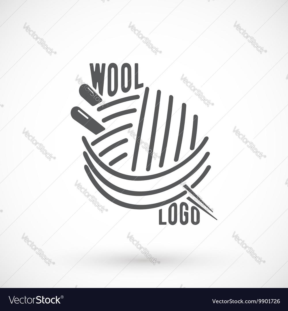 Wool and needle symbol
