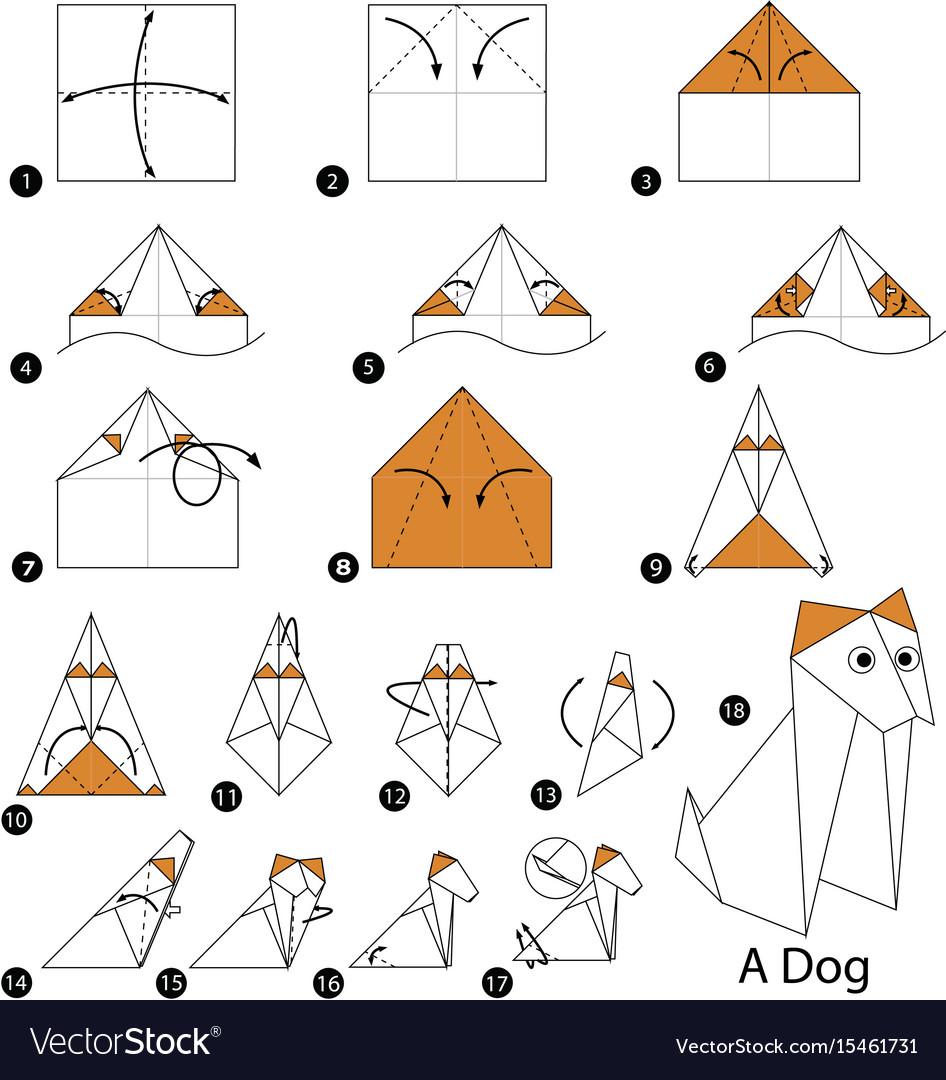 Origami Talking Dog | 1080x946