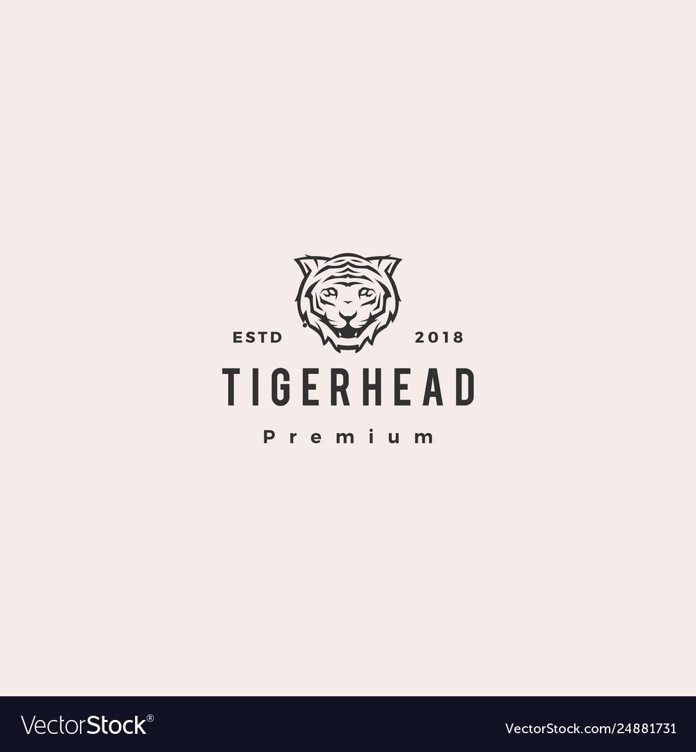 White tiger logo icon