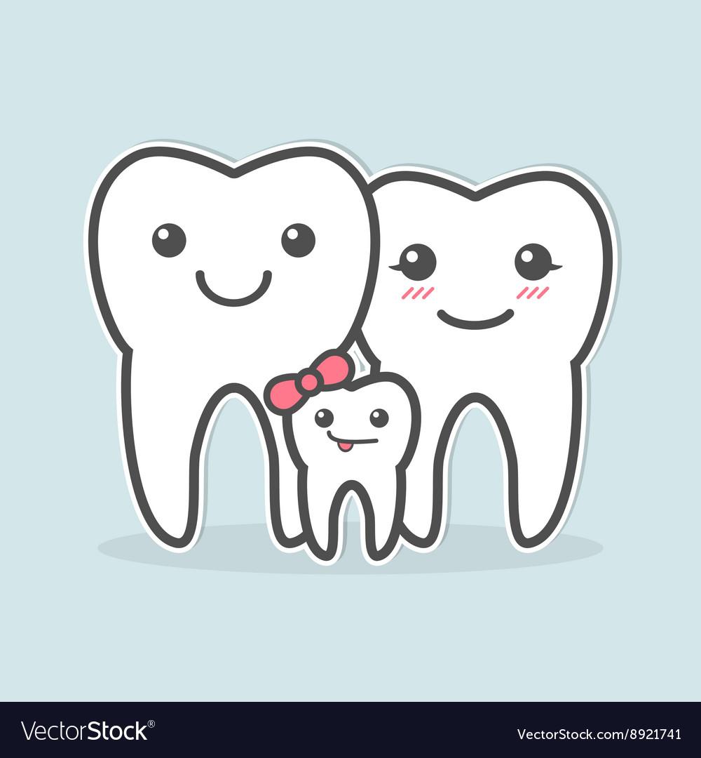 Healthy teeth family