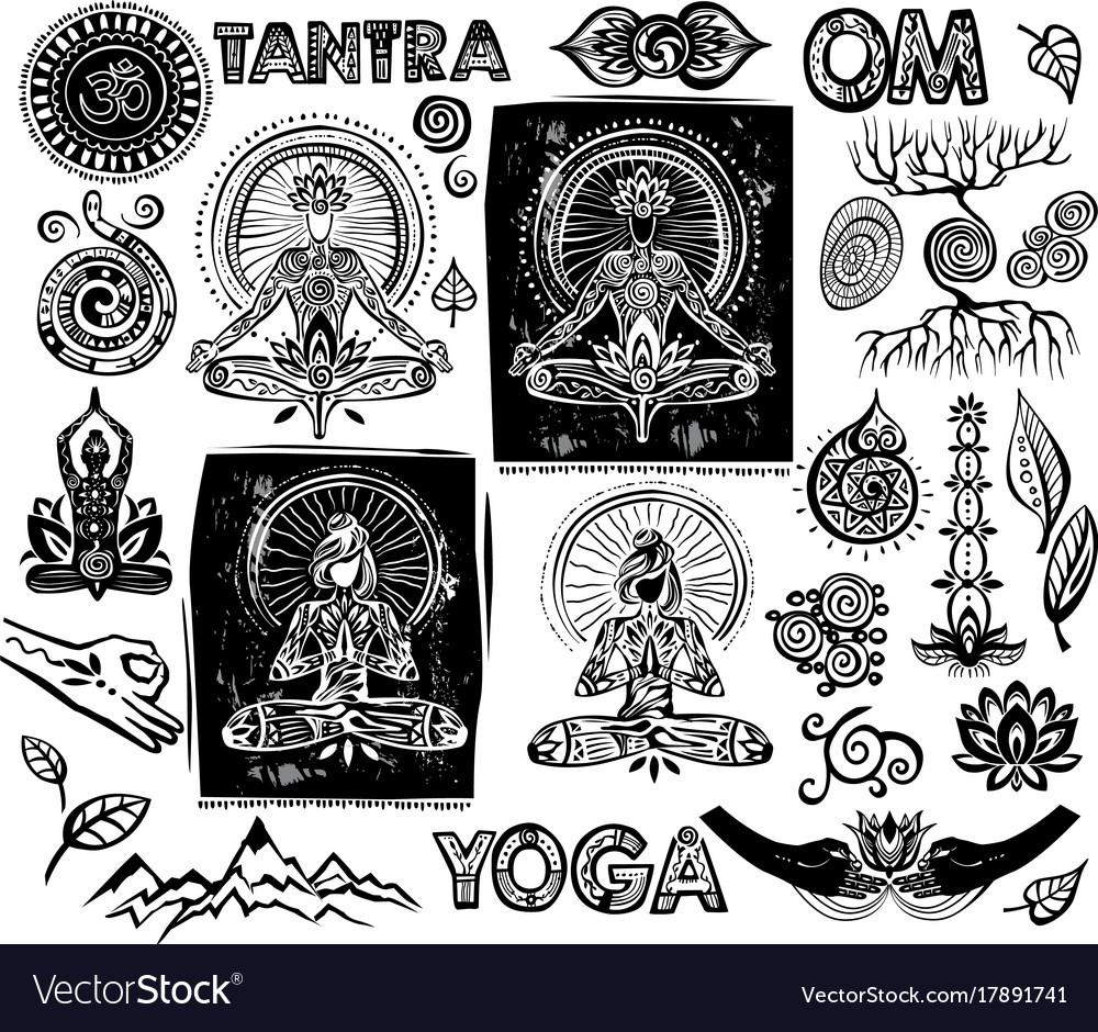 Set yoga elements