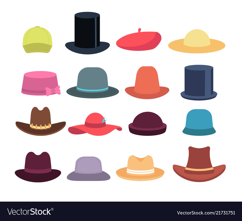 Cartoon hats male and female headgear hat and
