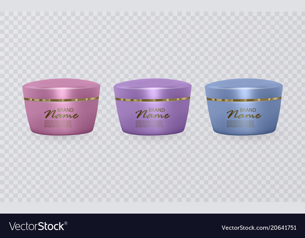 Colorful cosmetic tubes cosmetic templates ready