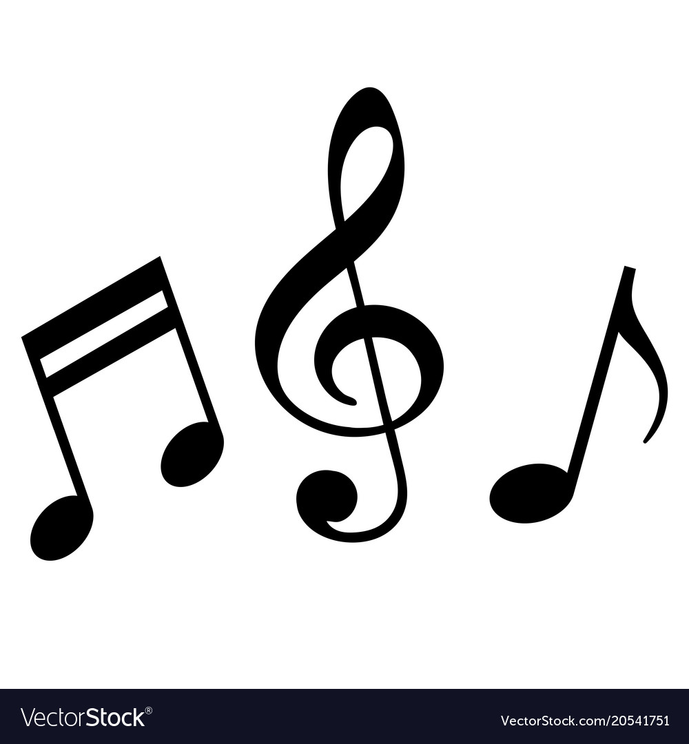 signs of a musical notation royalty free vector image