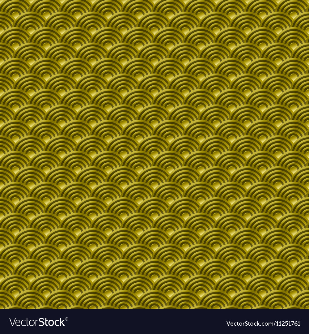 Chinese gold seamless pattern dragon fish scales
