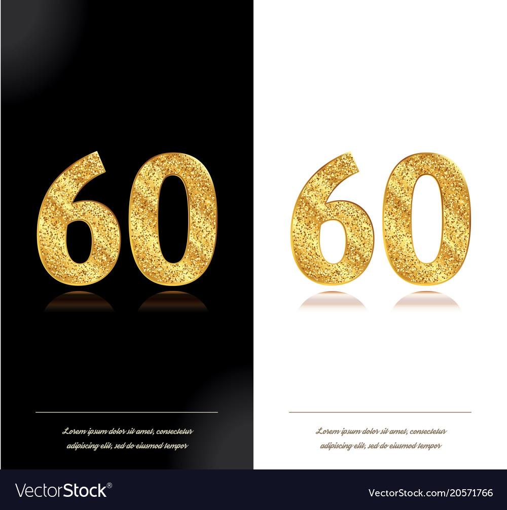 60th anniversary card royalty free vector image 60th anniversary card vector image m4hsunfo