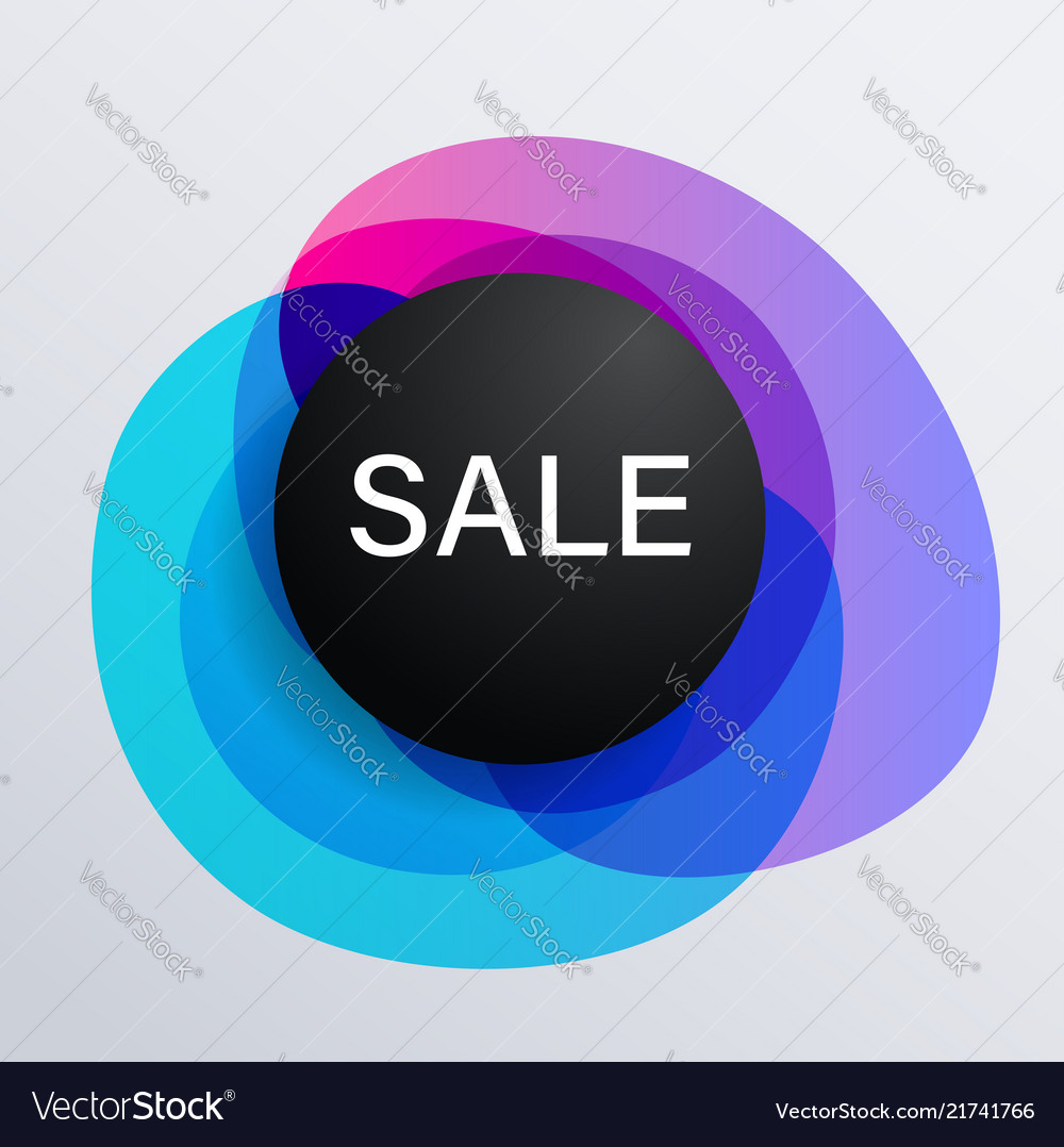 Abstract background for seasonal sale