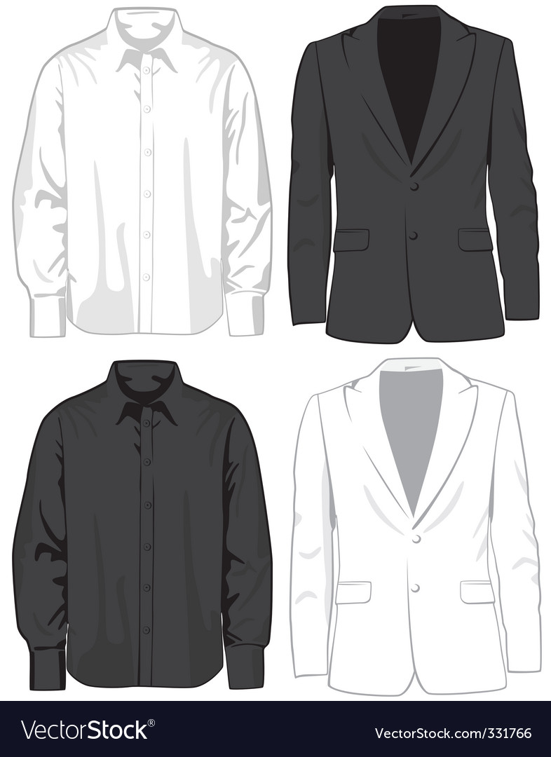 Coats and shirts