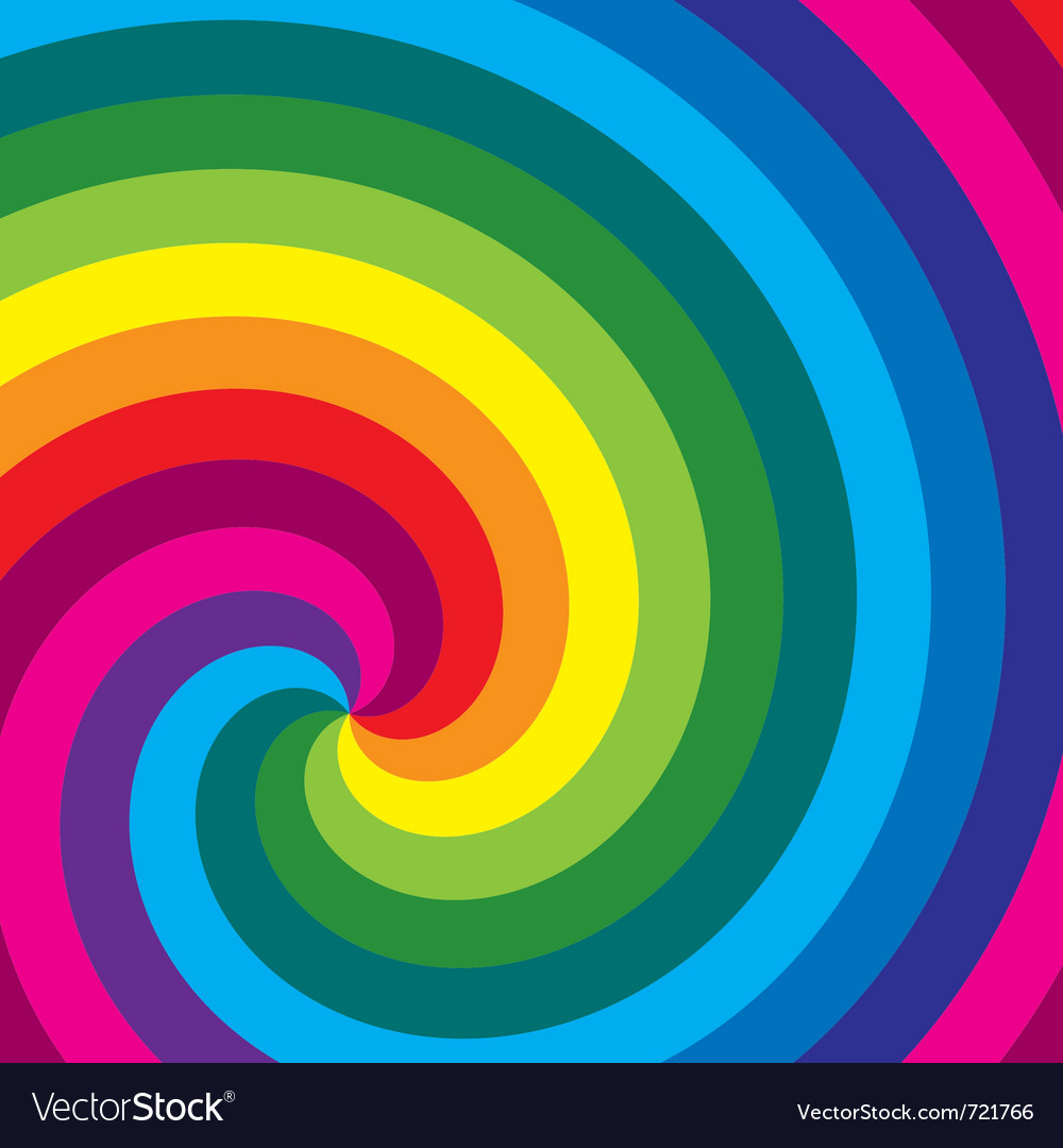 Colorful swirl background