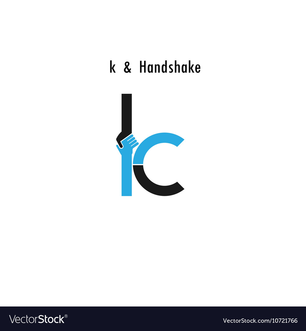 Creative K Letter Icon Abstract Logo Design