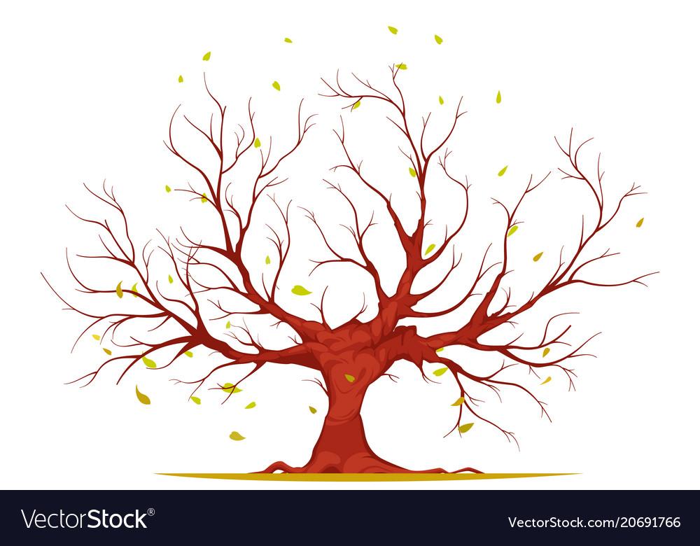 Huge tree vector image