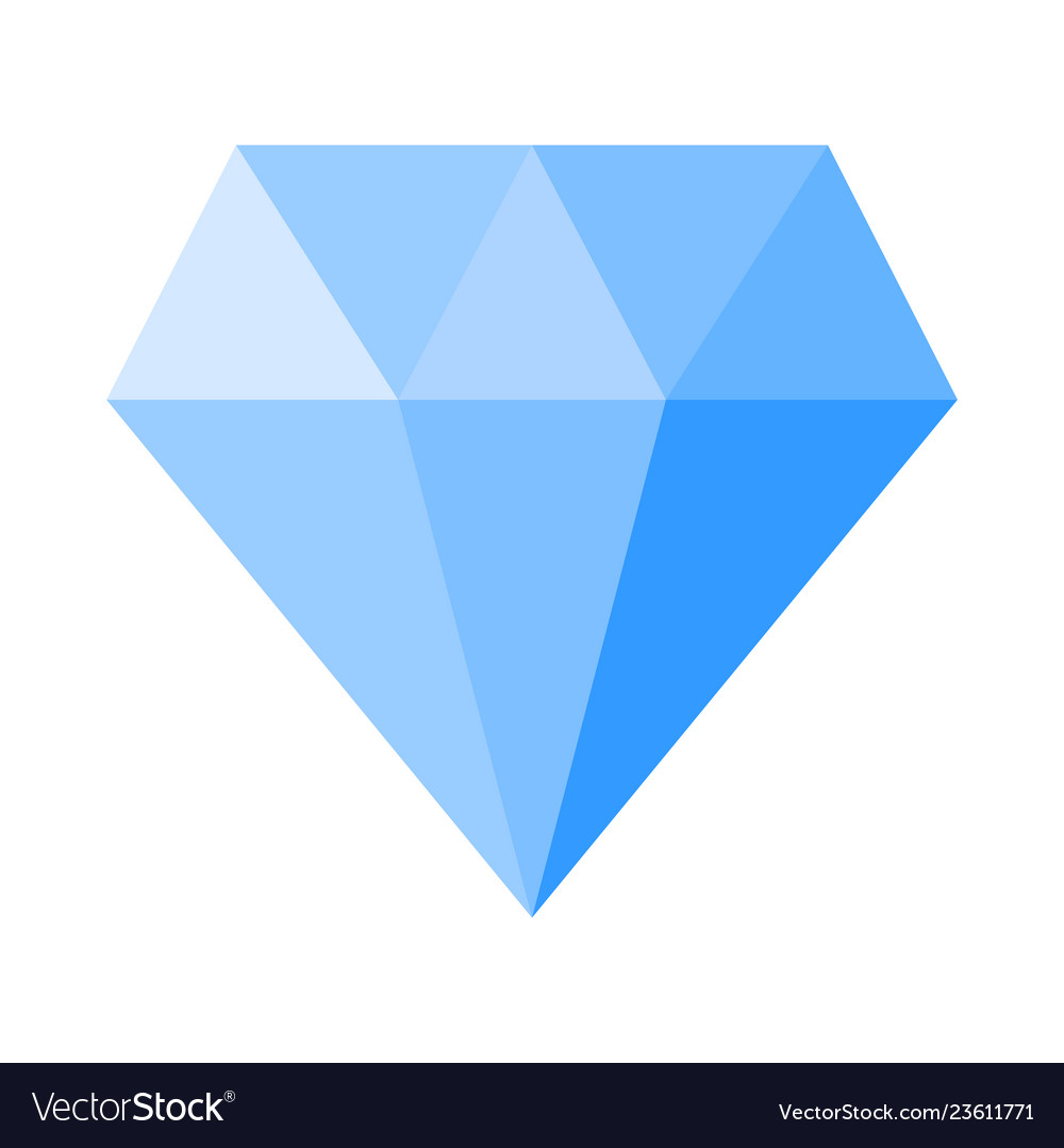 Cartoon Diamond Stone Royalty Free Vector Image Take a look at our channel for more drawing tutorials! vectorstock