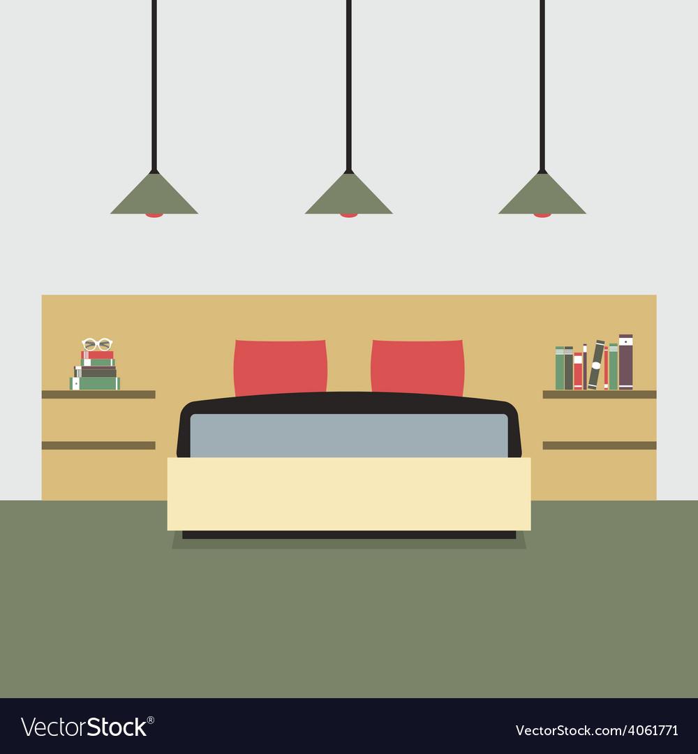 Flat Design Double Bedroom