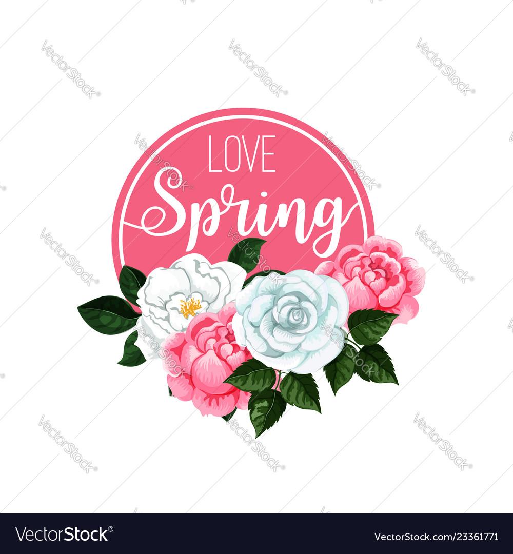 Poster love spring