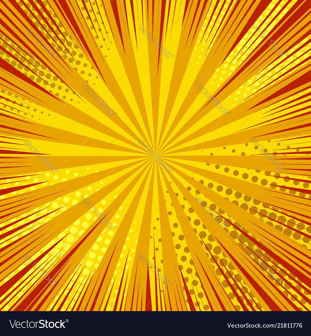 Abstract dynamic explosive orange background