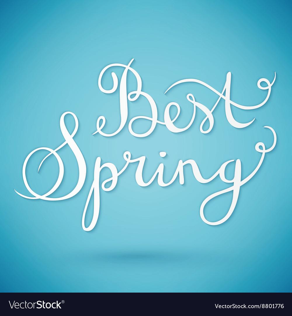 Best spring