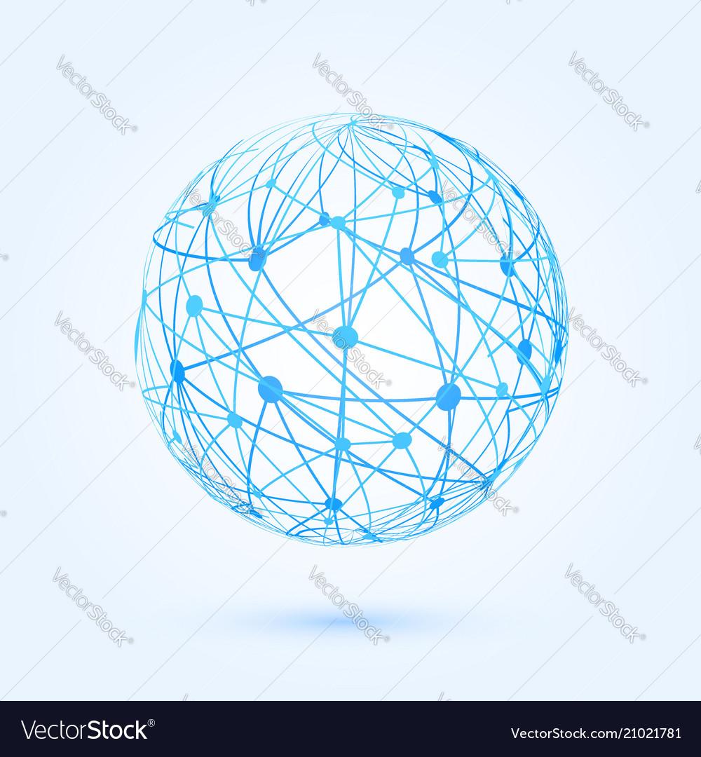 Global communication development wireframe