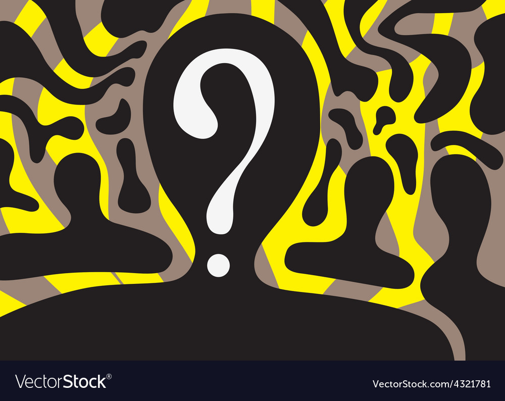 People - abstract background vector image