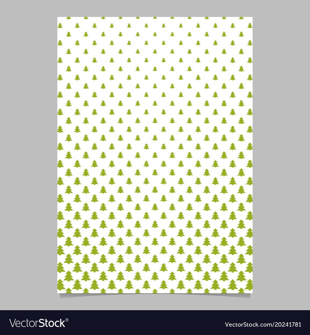 Pine tree pattern page backgeround design