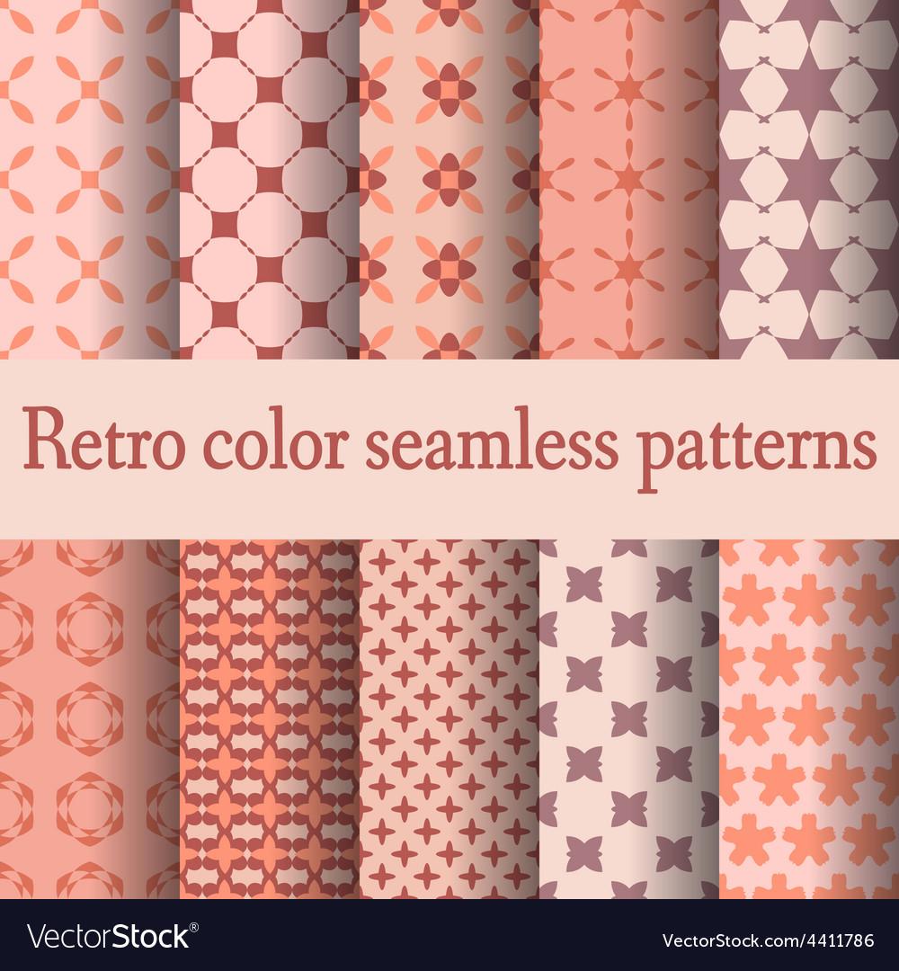 Retro seamless pattern-02