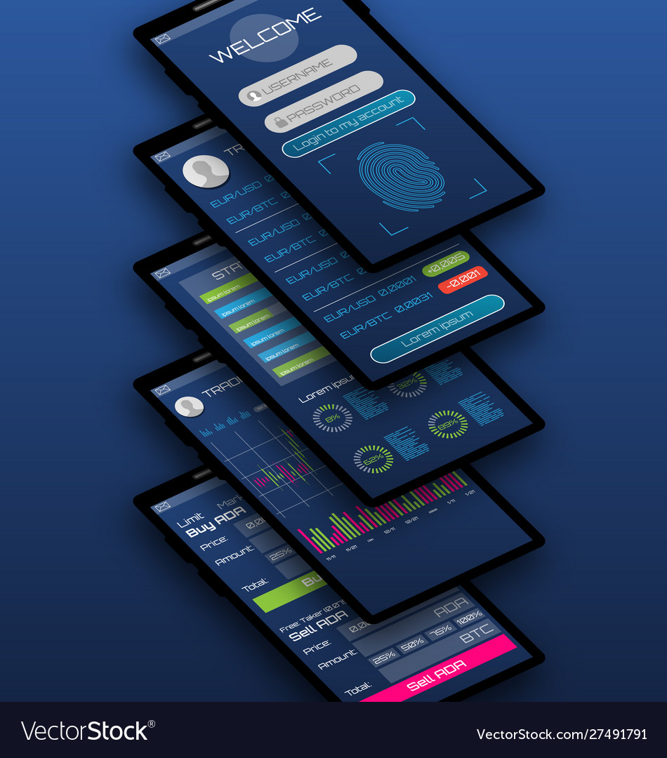 Online statistics and data analytics mobile