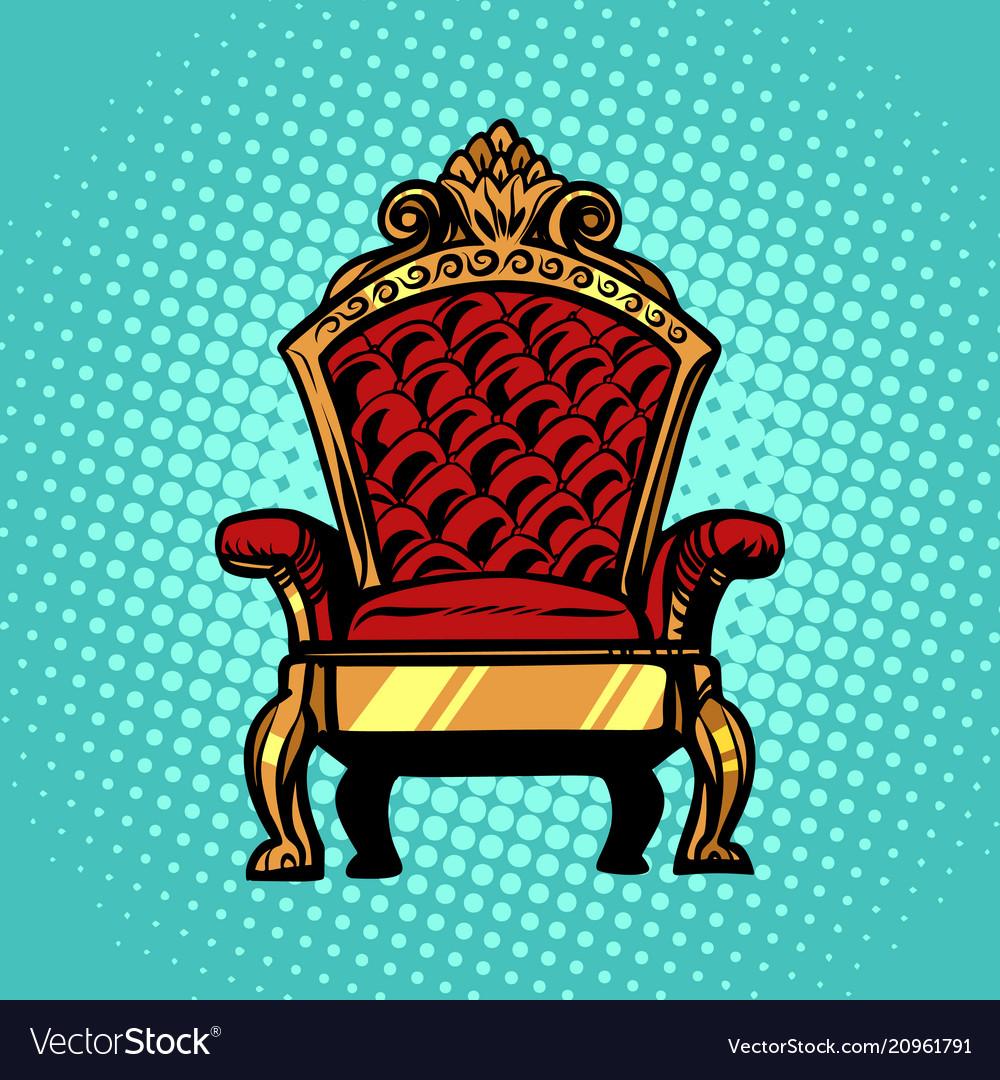 Throne symbol of royal power