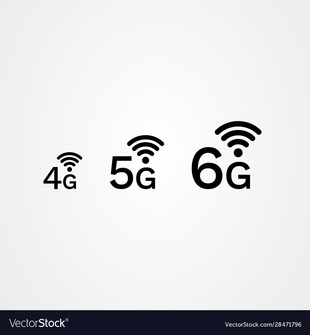 4g 5g 6g internet icon