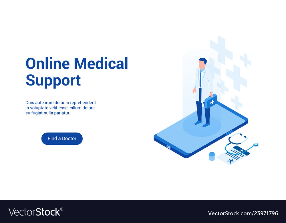 Medical support 3d template 2