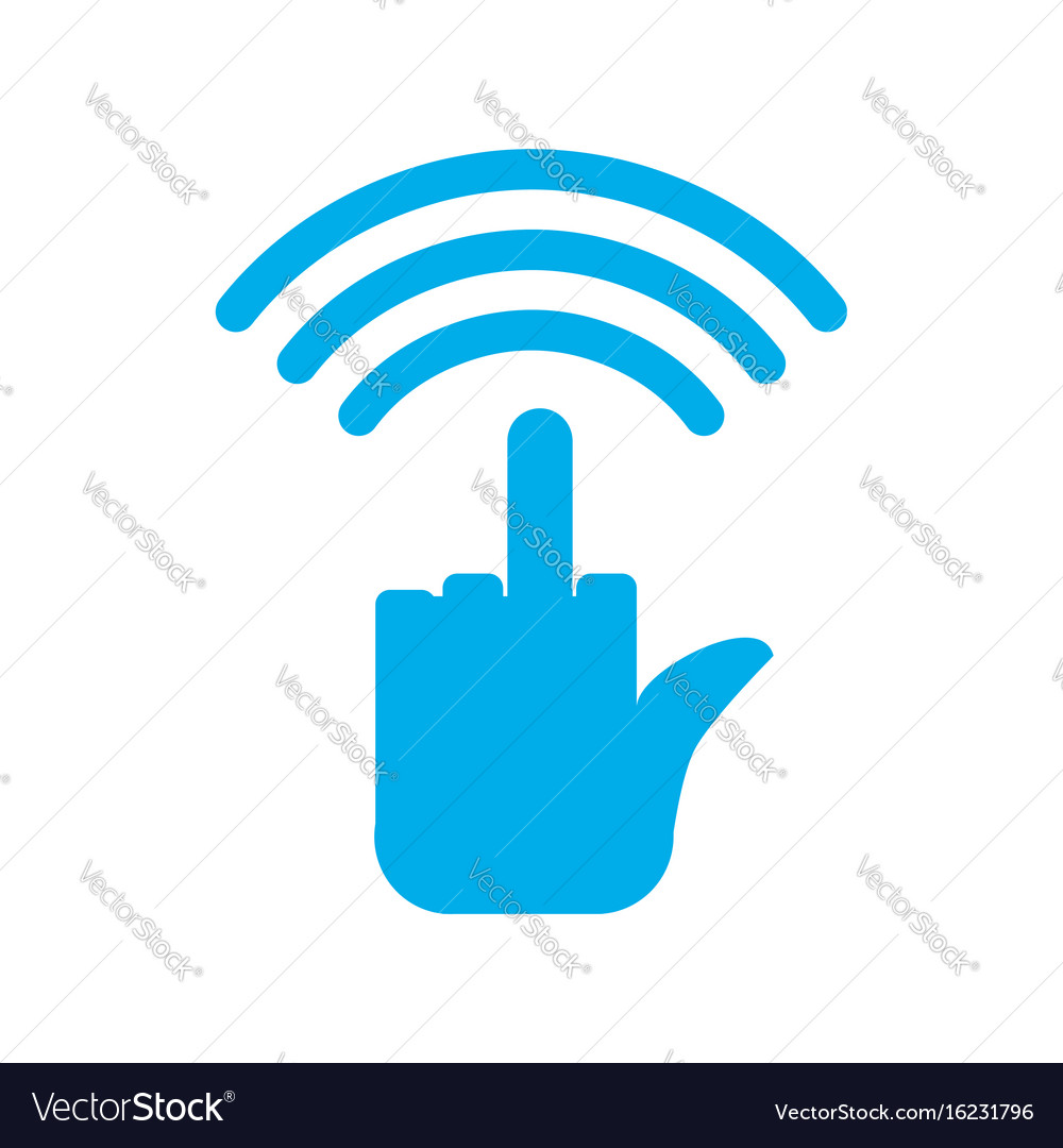 Wi-fi wifi hatred wireless communication for Vector Image