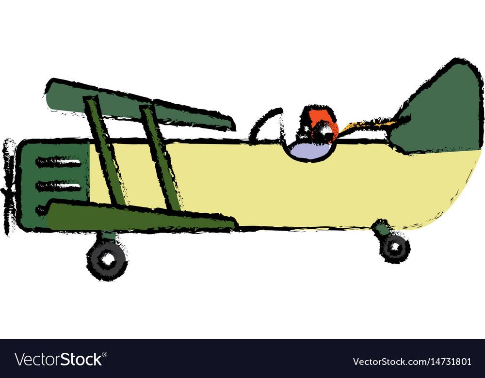 Plane icon image vector image