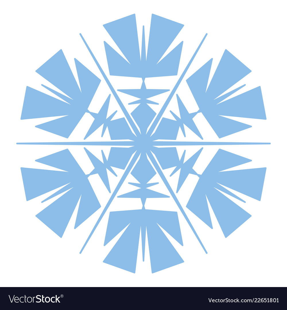 Simple snowflake element