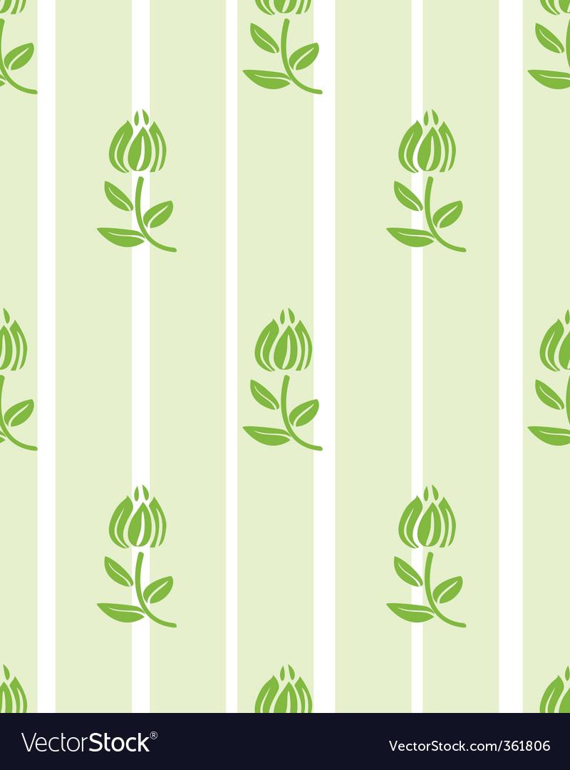 Floral light green floral wallpaper