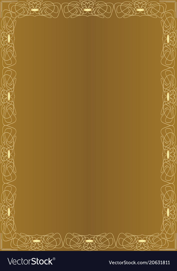 Elegant amazing golden background with golden
