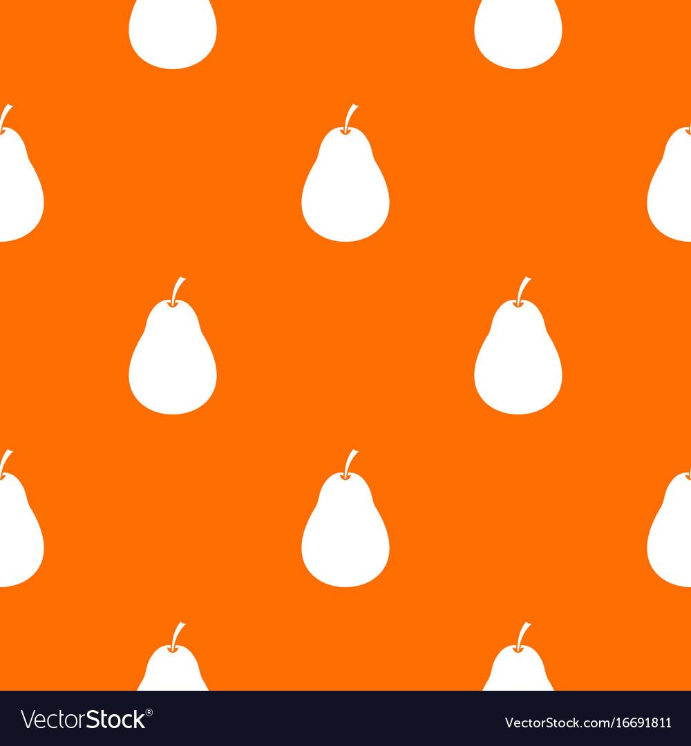 Pear pattern seamless