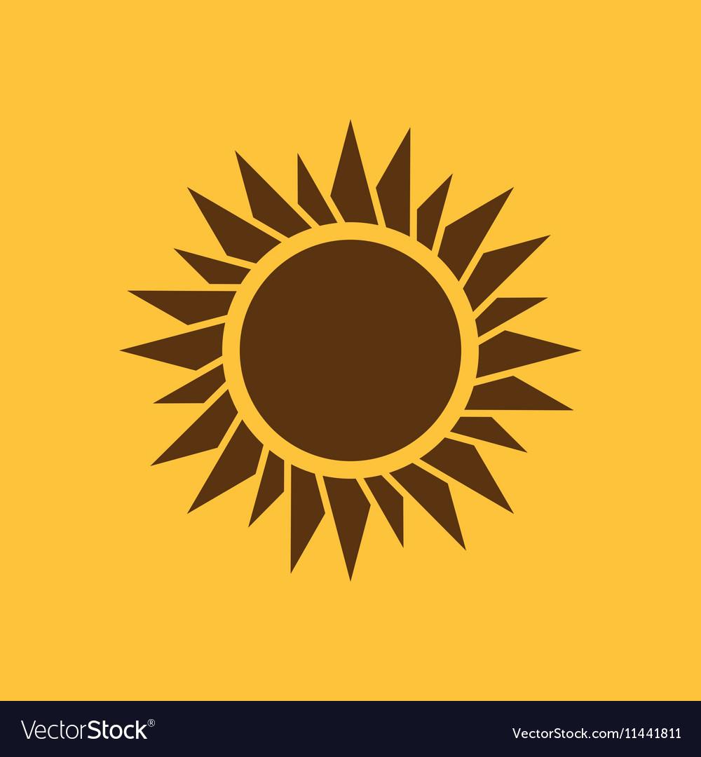 The sunrise icon Sunrise and sunshine weather
