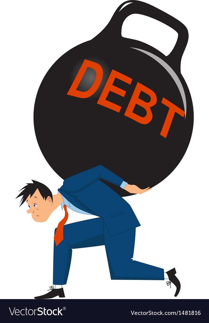 Overwhelming debt