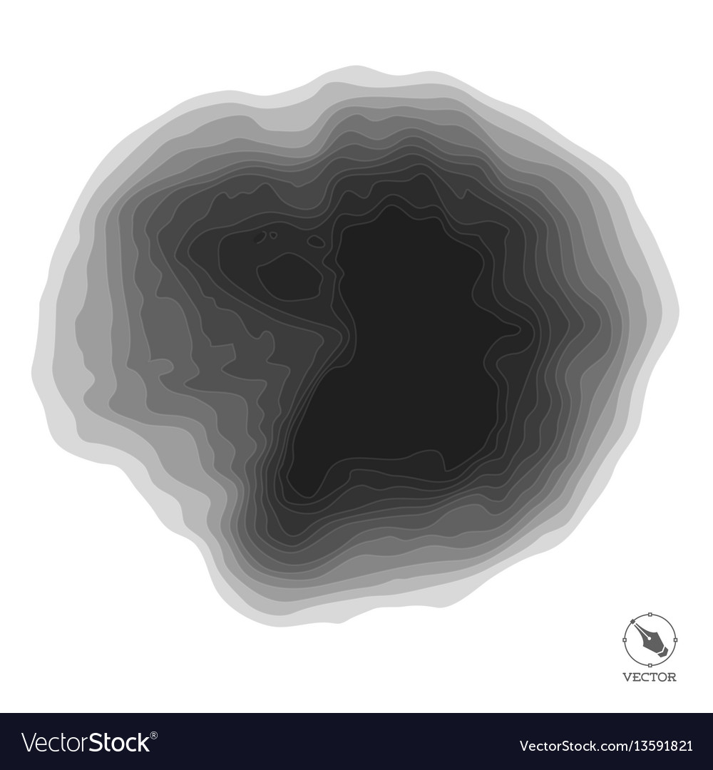 Abstract step black background for design vector image
