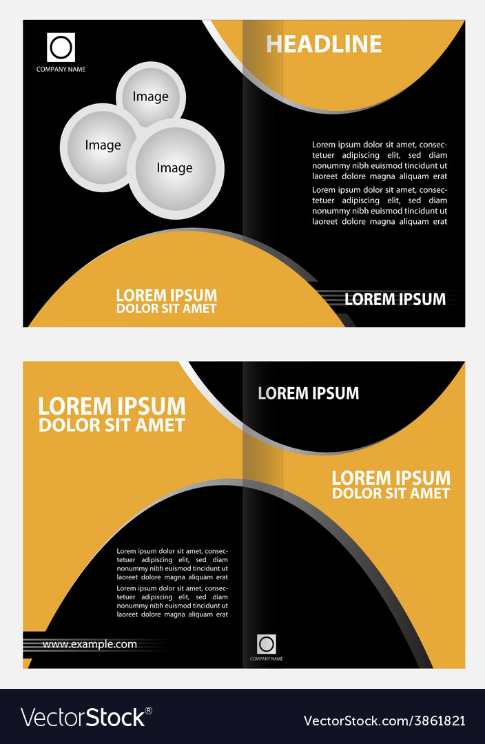 Professional business catalog template or corporat professional business catalog template or corporat vector image cheaphphosting Images
