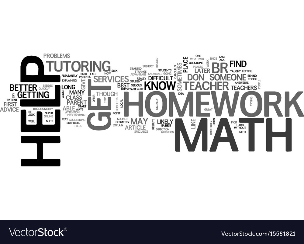 Online free math homework help; Math Homework Help and Online Tutoring